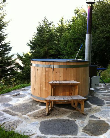 Elemente wellness saune for Amenajari piscine exterioare